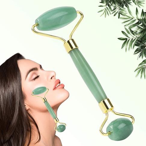 Skin Crystal Facial Roller מכשיר מגניב לטיפוח העור