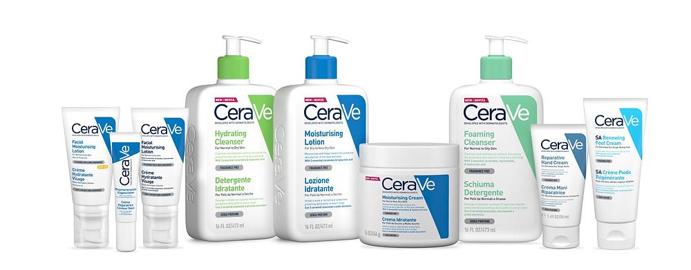 סדרת מוצרים סרווה - CERAVE