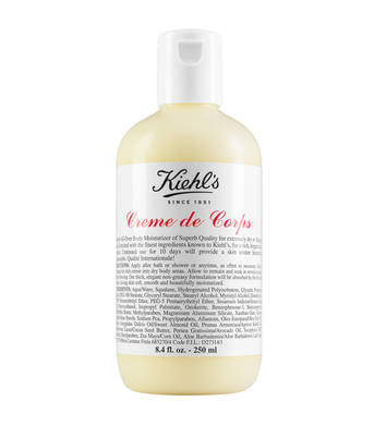 Creme de Corps A rich, non-greasy body lotion with Cocoa Butter and Beta-Carotene.
