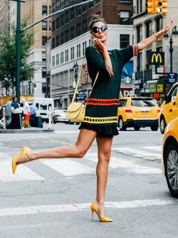 Giovanna Battaglia אושיית אופנה סטי