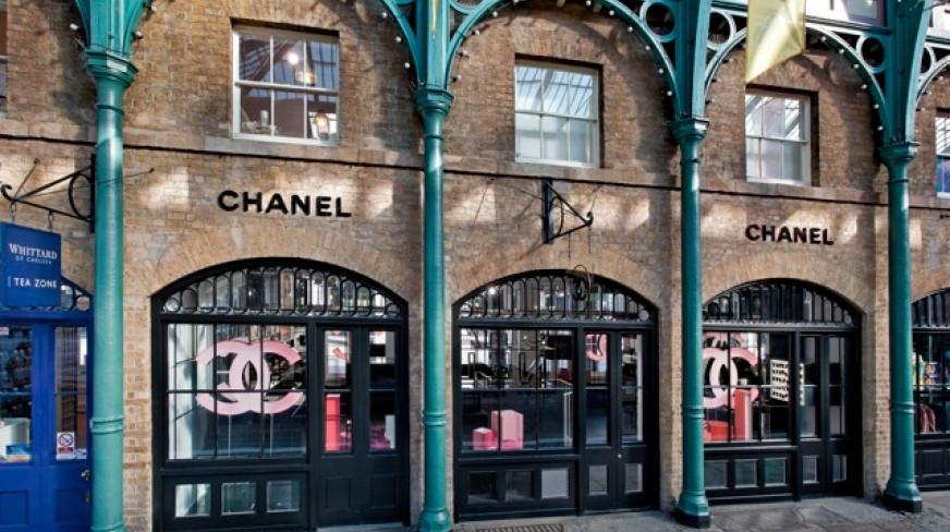 Chanel covent garden market building