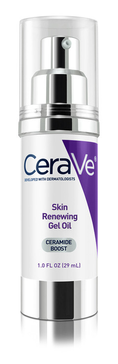 CeraVe Skin Renewing Gel Oil Face Moisturizer Fragrance Free1 oz