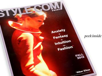 מגזין אופנה מקוון  Style.com  שהפך לחלק מהאתר  Farfetch