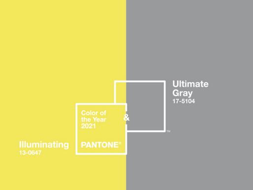 צבעי השנה 2021 של חברת הצבעים PANTONE