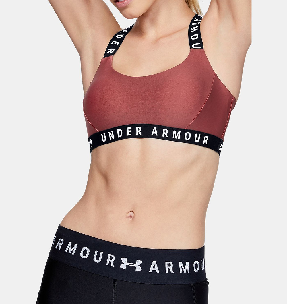 UA Wordmark Strappy Women's Studio Sports Bra