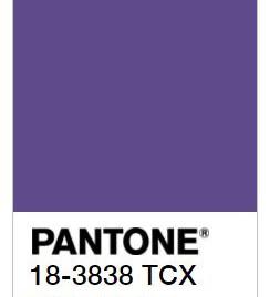 צבעי השנה 2018 של חברת הצבעים  PANTONE