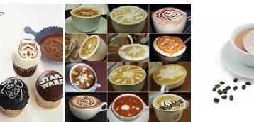 אמנות בקפה