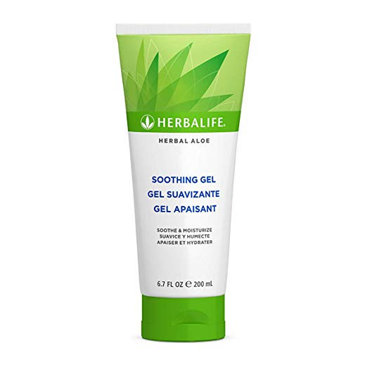 Herbal Aloe Soothing Gel 6.7 Fl. Oz./200 ml Ideal For Smoother and Softer Skin  by Herbalife Nutrition