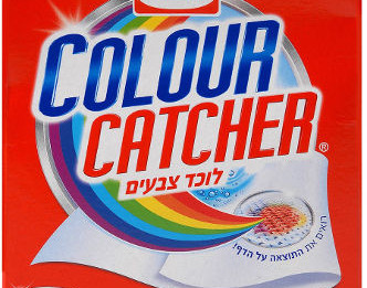 דפי כביסה למניעת העברת צבע בין הבגדים במהלך הכביסה במכונת כביסה או בכביסה ביד