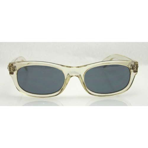 VERSUS Clear Sunglasses with Smoke Colored Lenses. Model E19 924.jpg