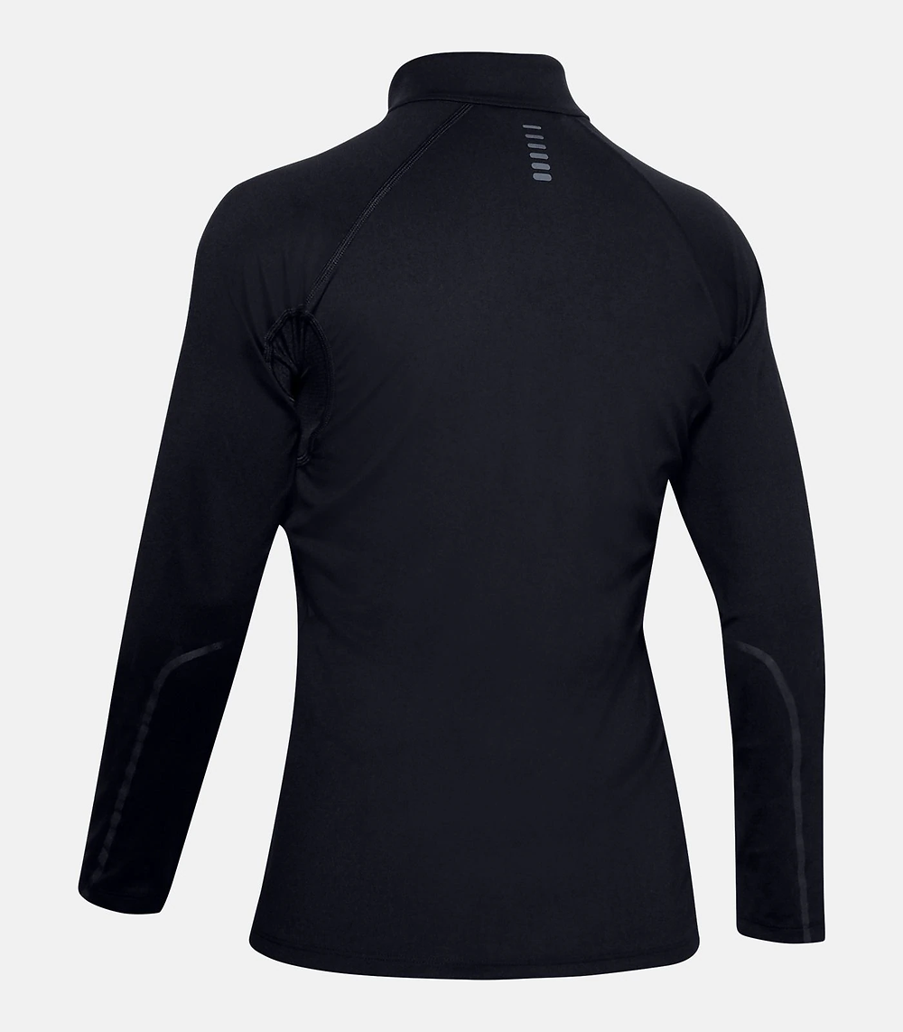 UA RUSH™ ColdGear® Run ½ Zip Women's Running Long Sleeve Shirt