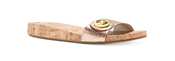Michael Kors Lee Slide-On Sandals