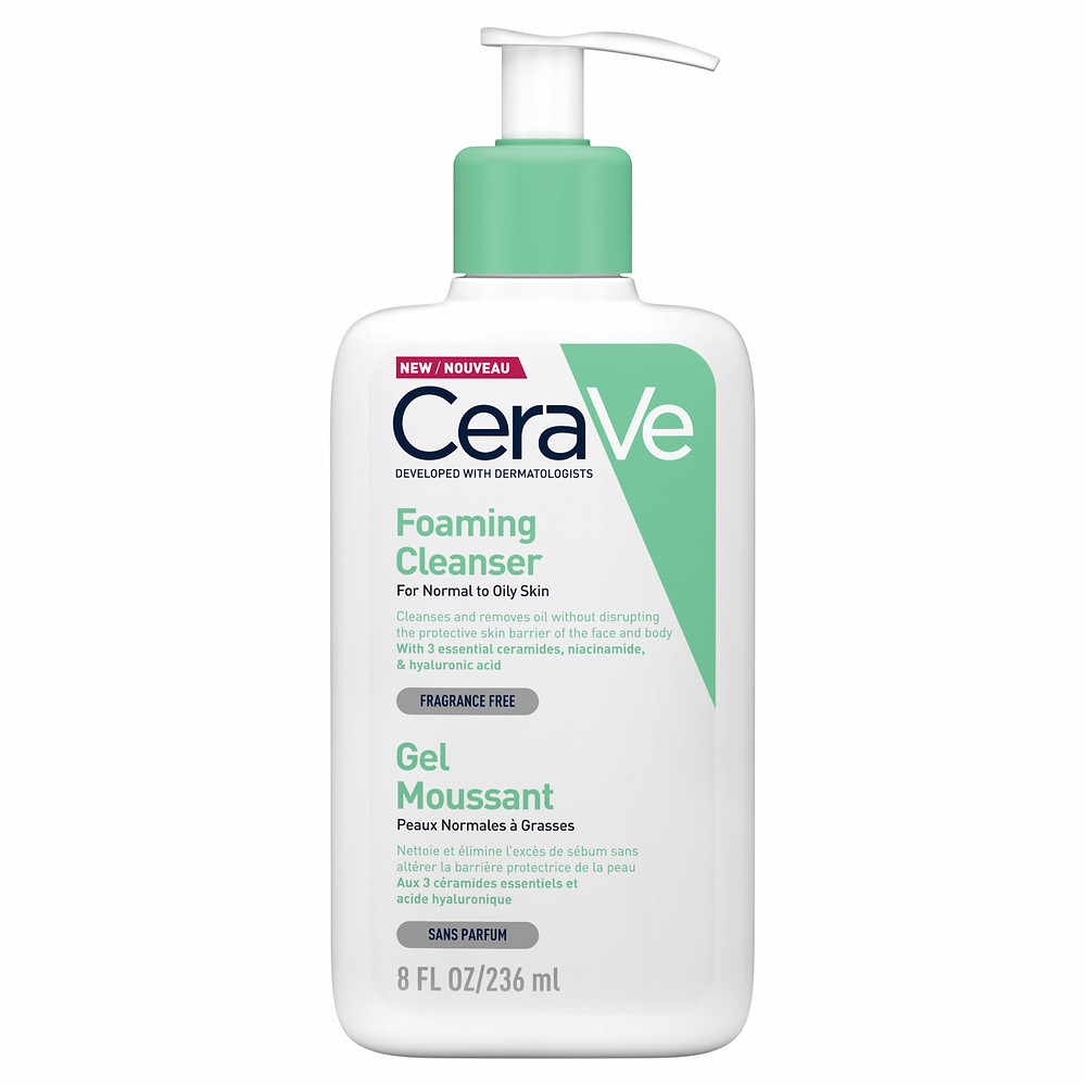 CERAVE - סרווה ג'ל מקציף לניקוי העור- לעור רגיל עד שמן תכולה - 236 מל צילום מוטי פיישבן (Custom)