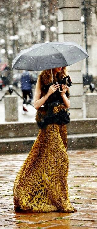 המפתח להראות נהדר בחצאית מקסי