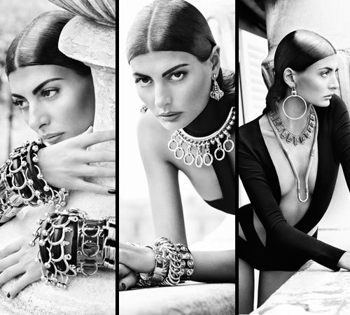 Giovanna Battaglia Stars in Eddie Borgo's Spring 2011 Lookbook