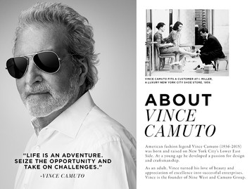 Vince Camuto® על המעצב והמותג