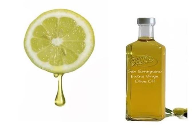 טיפול שמן זית ומיץ לימון לטיפוח הציפורני