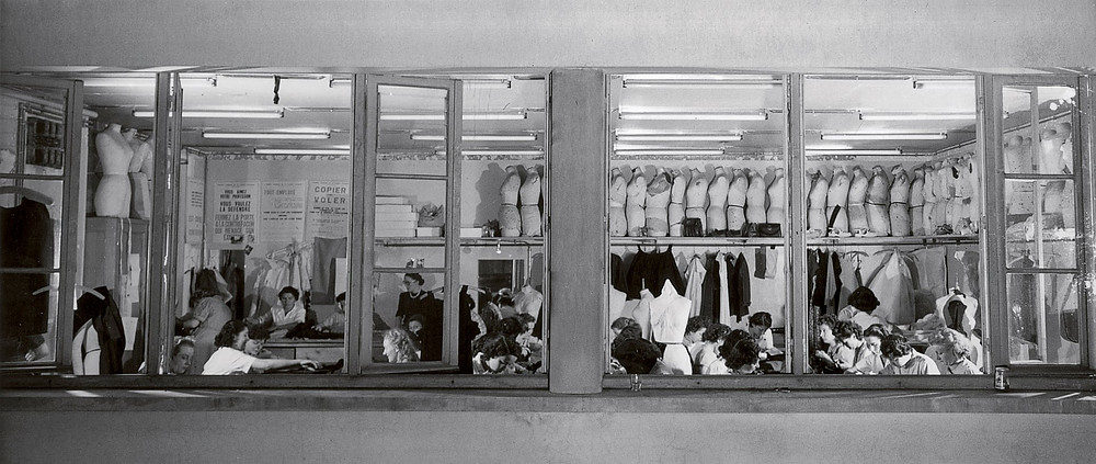 The ateliers of the House of Dior, circa 1948. Photograph: Bellini/Christian Dior