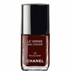 black red/Rouge Noir by CHANEL  Nail polish