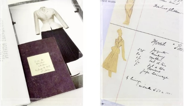 "photos/ of the book ""Inpiration Dior"", Abrams 2011"
