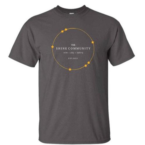 The Shine Community T-Shirt - Gray