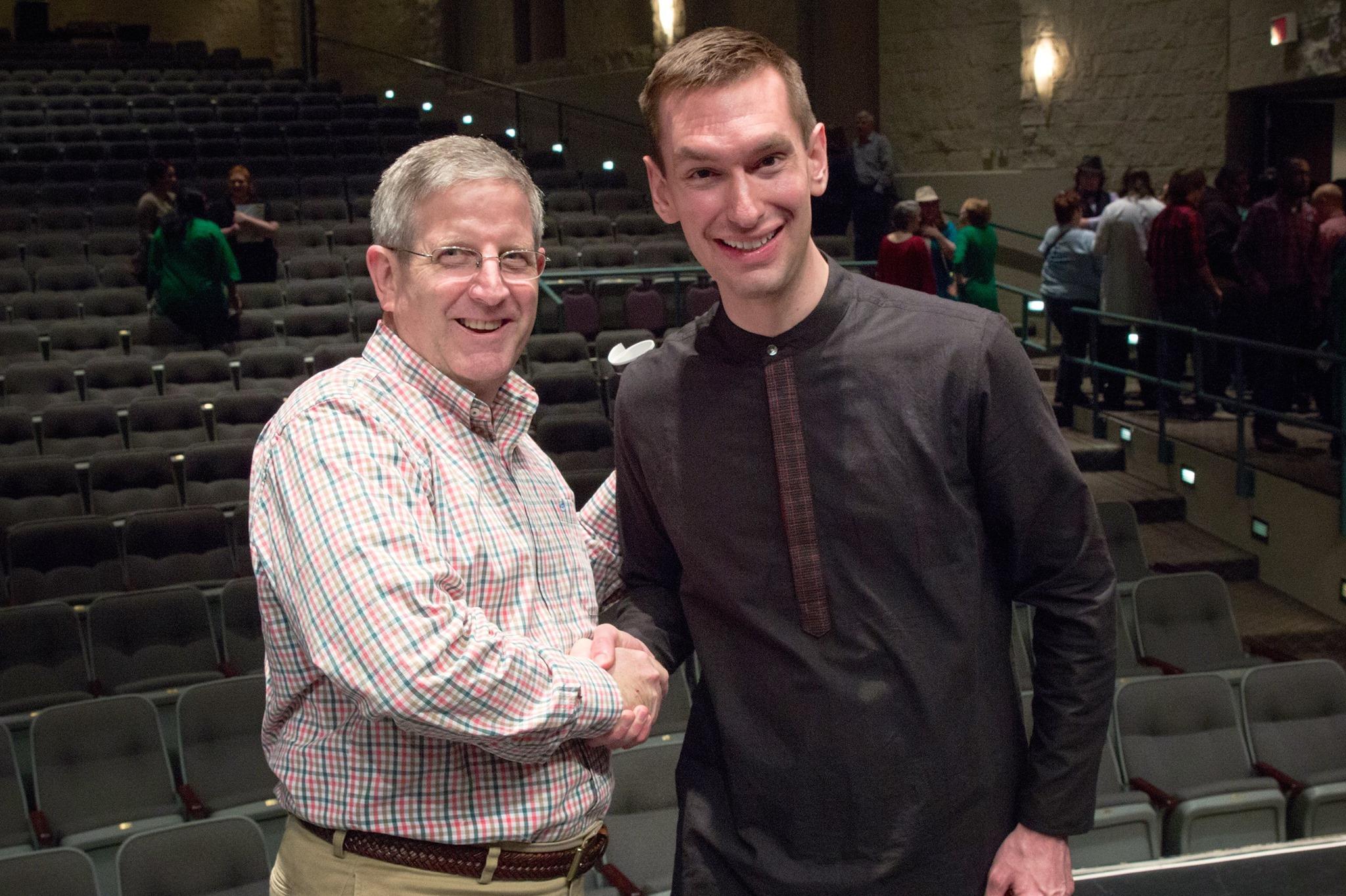 Tim Starnes and Dr. Potter