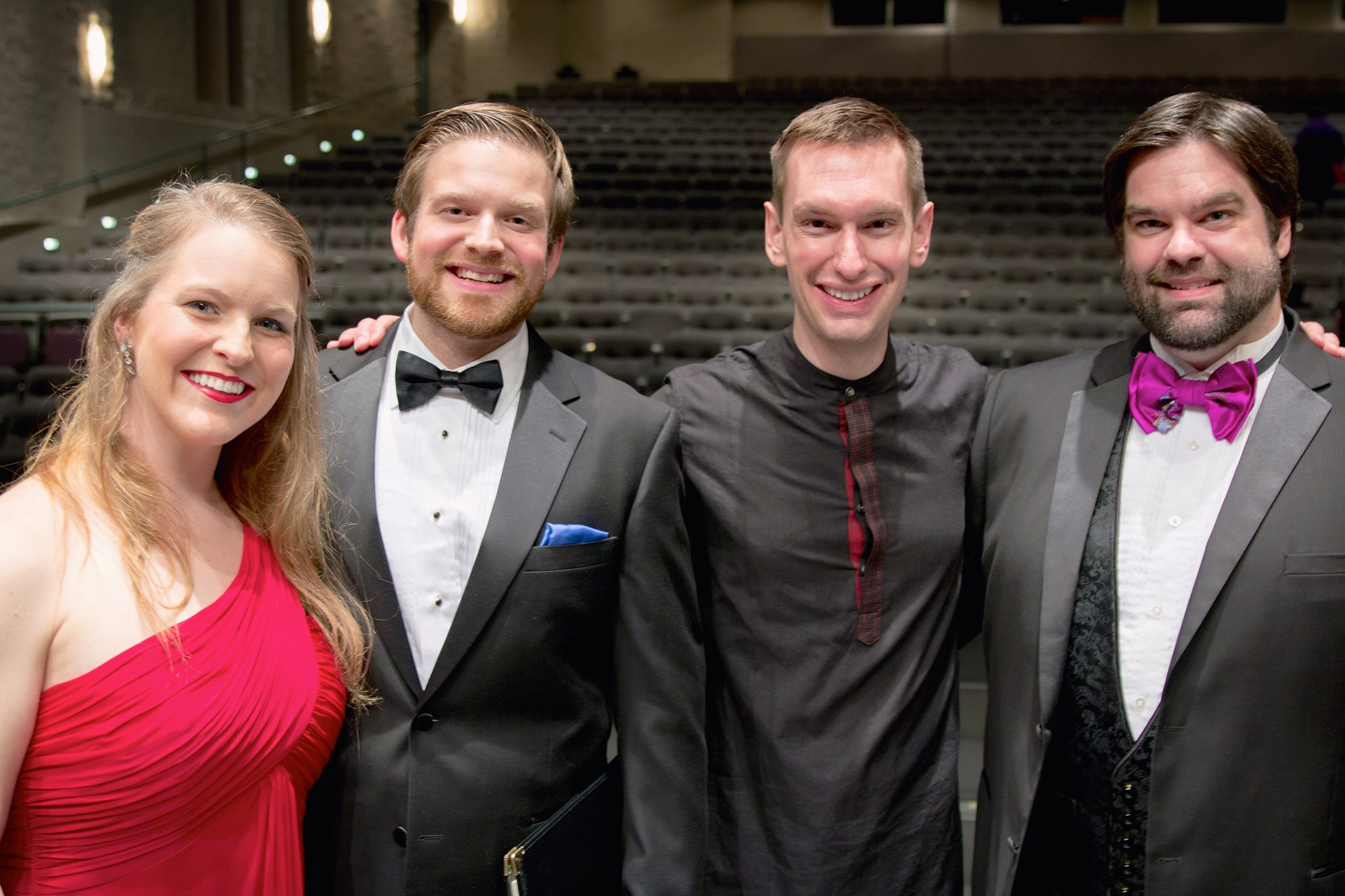 Carmina Burana Soloists and Dr. Potter