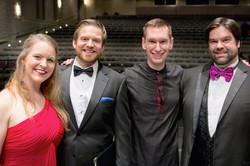 Carmina Burana Soloists and Dr. Potter