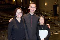 Dr. Fosheim, Dr. Potter, Dr. Shimizu
