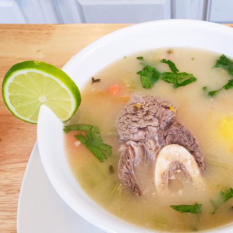 Sopa de Morón con Osobuco