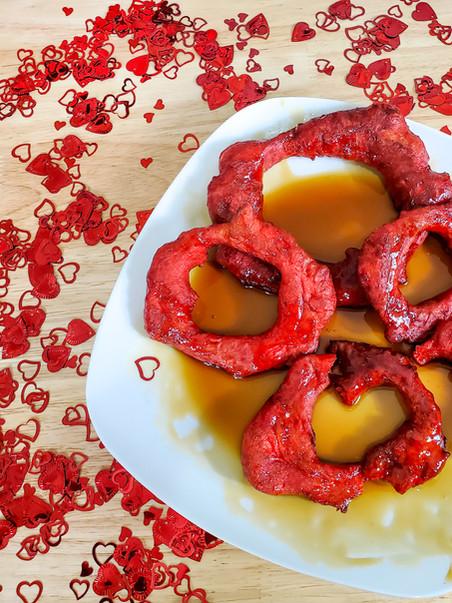Picarones Peruanos rojos!?