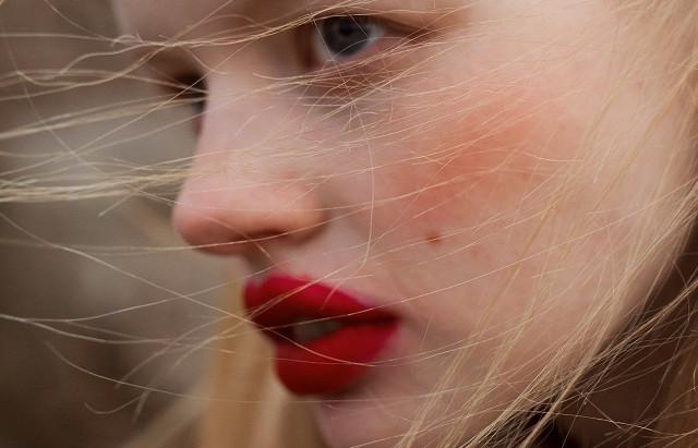 Red lips by Angelika Łagowska