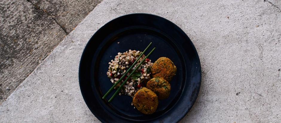 Lśnienie od kuchni - falafele