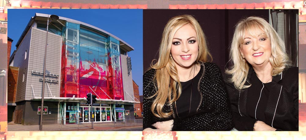 Jane Joseph and her daughter Chantelle Nolan, and the theatre frontage. Pics: Theatre Royal St Helen