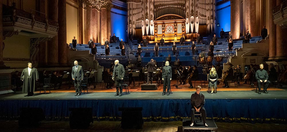 Opera North in Fidelio at Leeds Town Hall. Pic Richard H Smith