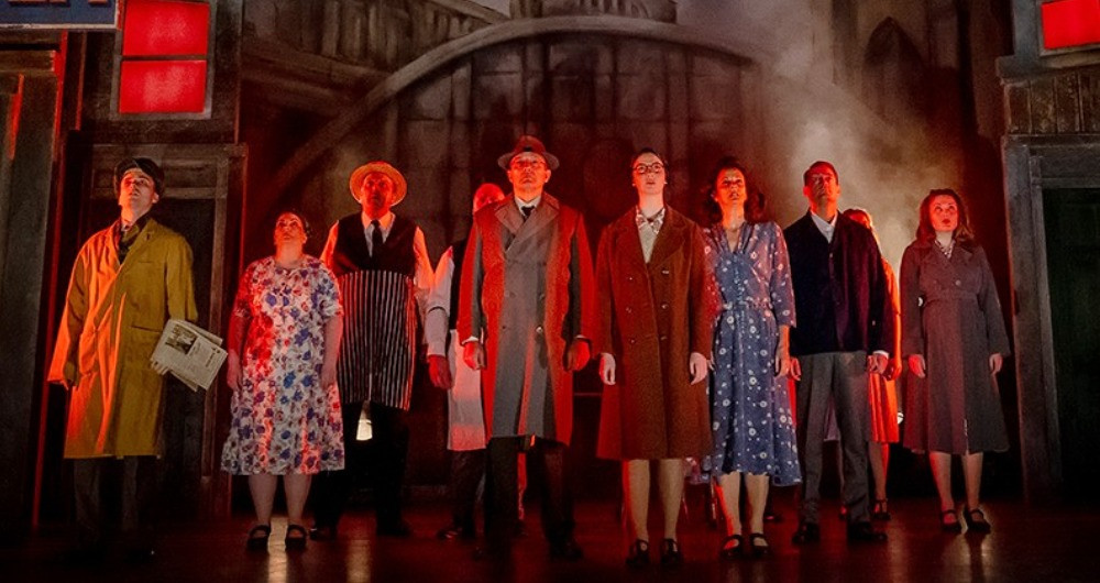 The 2020 cast of By The Waters of Liverpool