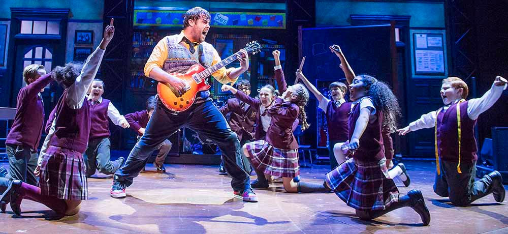 School of Rock London cast (the London production is now closed)