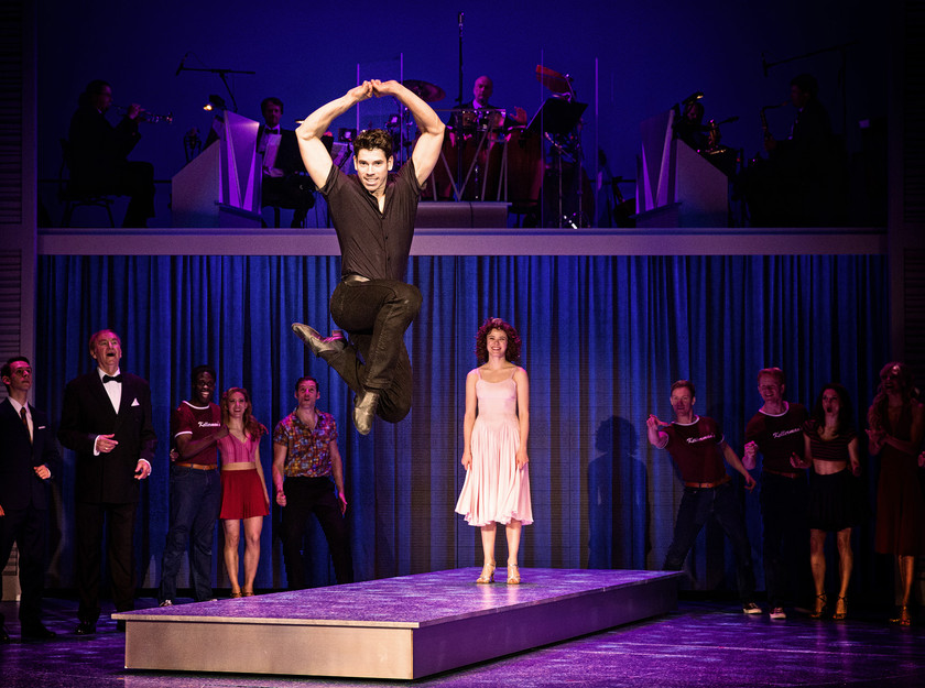 Patrick O'Reilly and Kira Malou in Dirty Dancing