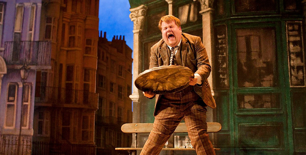 James Corden in the original One Man, Two Guv'nors