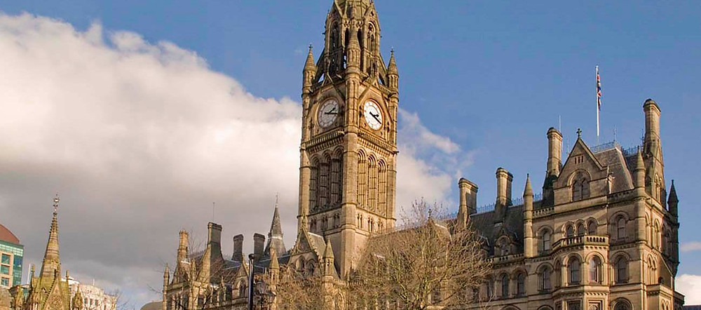 Manchester town hall. Pic by Mark Andrew