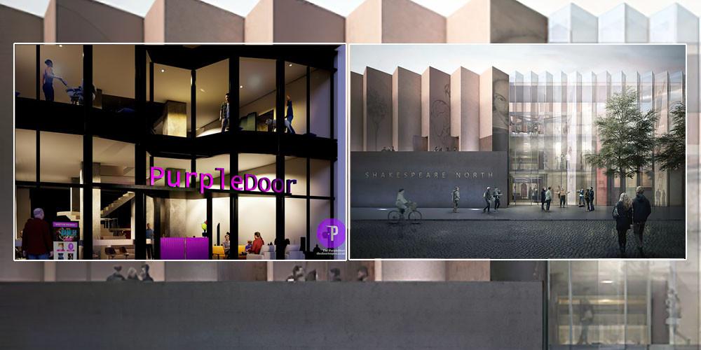 PurpleDoor (l) and Shakespeare North Playhouse