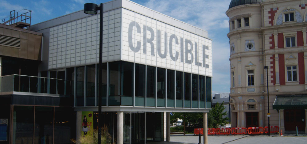 Sheffield Crucible - the only theatre featured in the testing