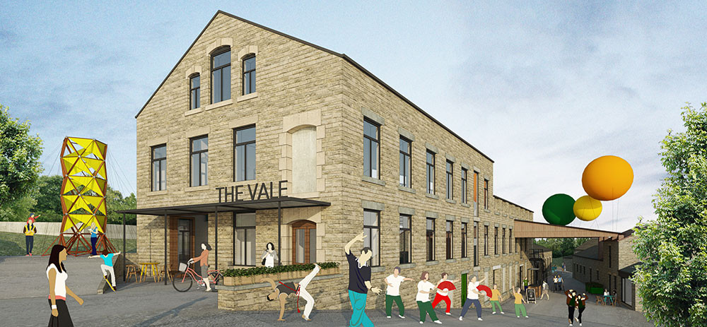 Artist's impression of the Vale, home of the Carnival Centre of Excellence in the North. Pic Global Grooves