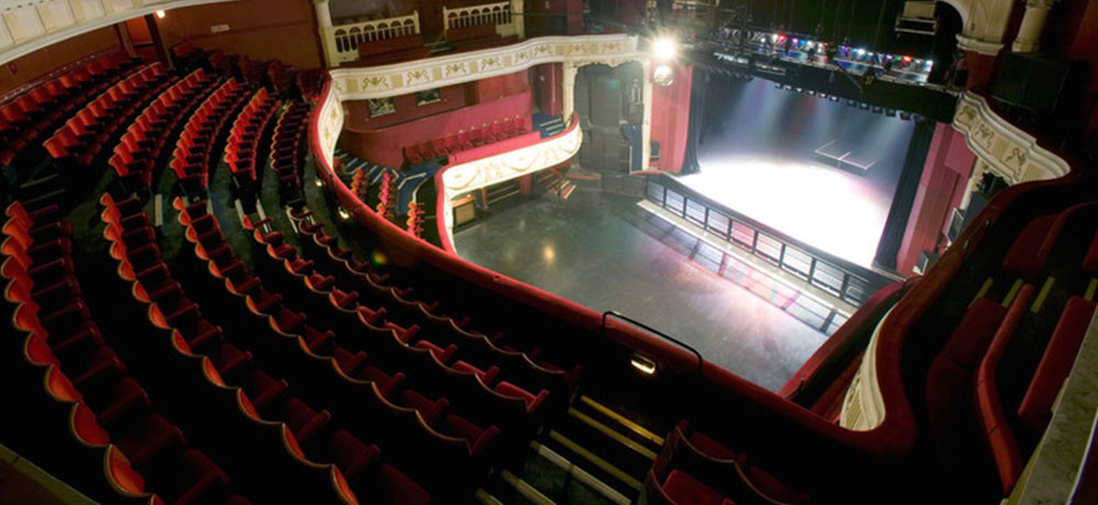 A theatre could go from full to this frighteningly quickly in the case of a Covid outbreak