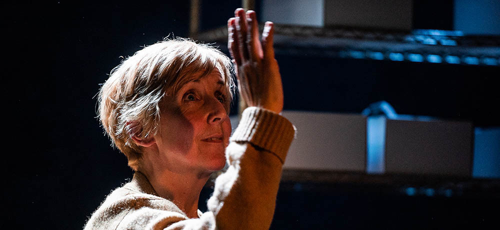 Julie Hesmondhalgh in The Greatest Play in the History of the World. Pic: Savannah Photographic