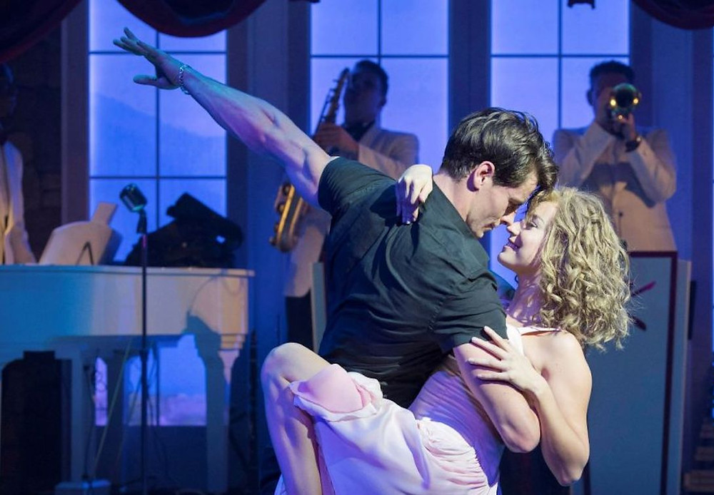 Getting down, Sixties-style: Michael O'Reilly and Kira Malou in Dirty Dancing at the Palace, Manchester. All pics: Alistair Muir