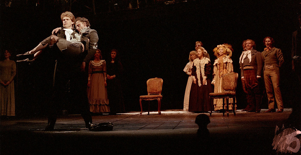 Michael Siberry as Nicholas in Nicholas Nickleby in 1986