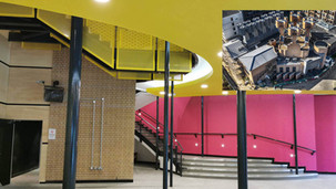 Contact theatre refurb handed over by contractors