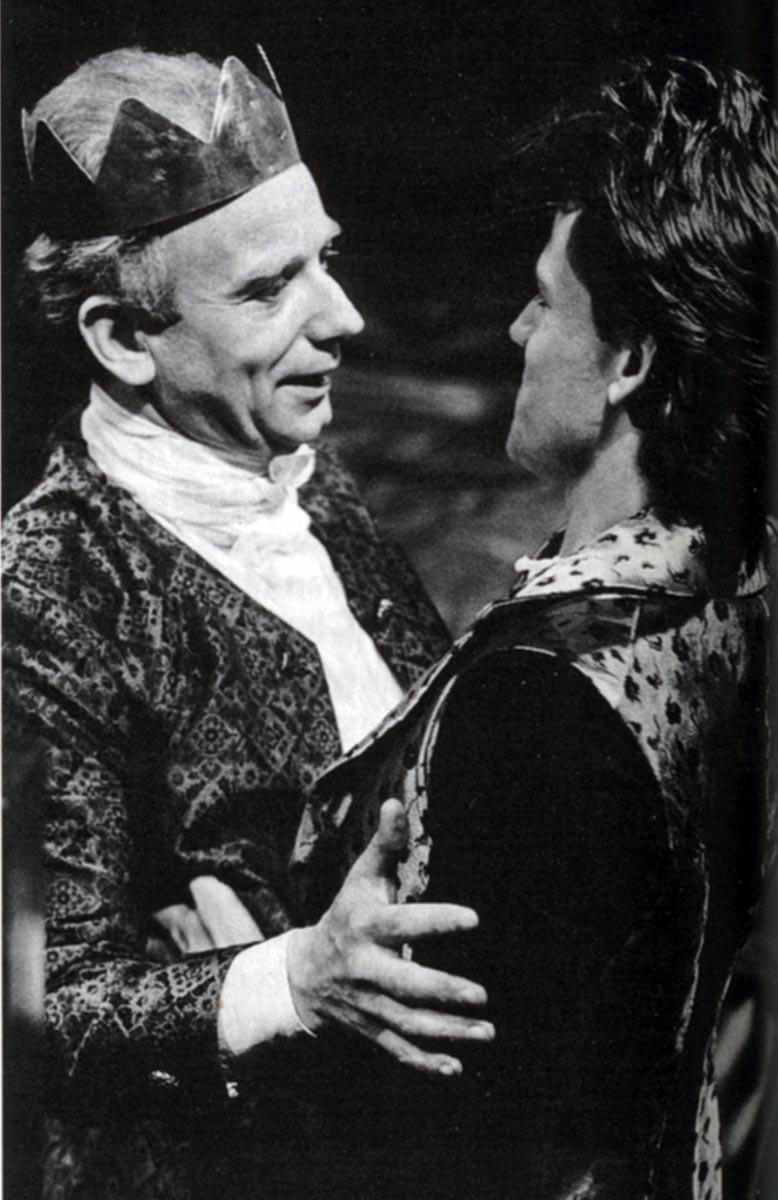 Ian McDiarmid and Michael Grandage in Edward II