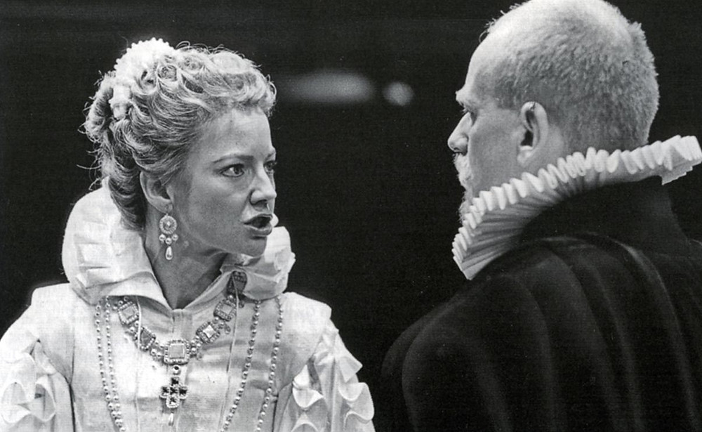 Virginia Greig and Ian McDiarmid in Don Carlos
